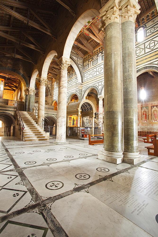 Basilica di San Miniato al Monte in Florence in Tuscany, Italy, Europe