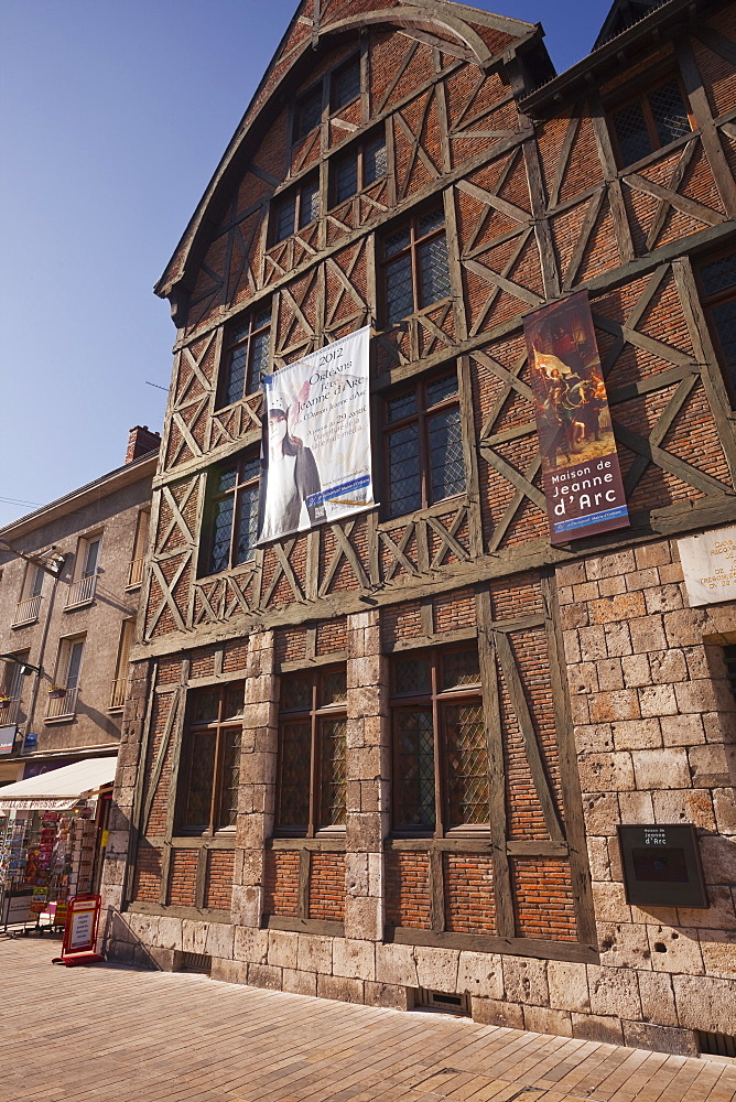 The house of Jean of Arc or Maison de Jeanne d'Arc in Orleans, Loiret, France, Europe