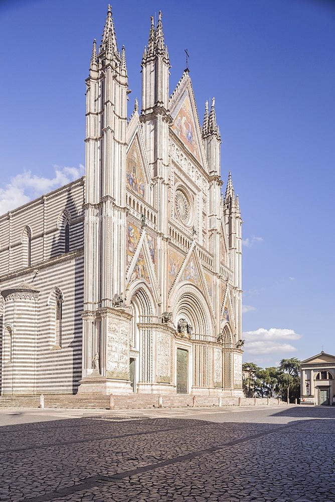 The Duomo di Orvieto, Orvieto, Umbria, Italy, Europe