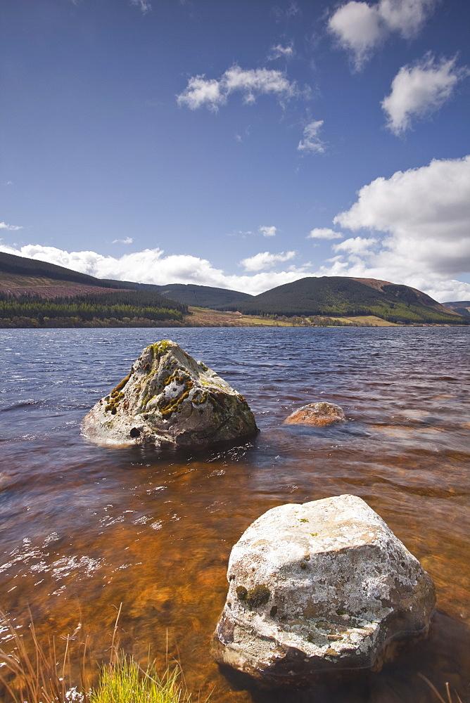 St. Mary's Loch in the Scottish Borders, Scotland, United Kingdom, Europe