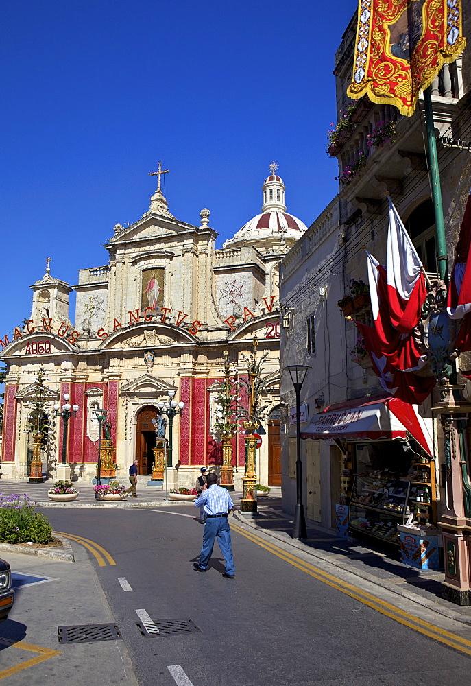 St. Paul's Church and Grotto, Rabat, Malta, Europe