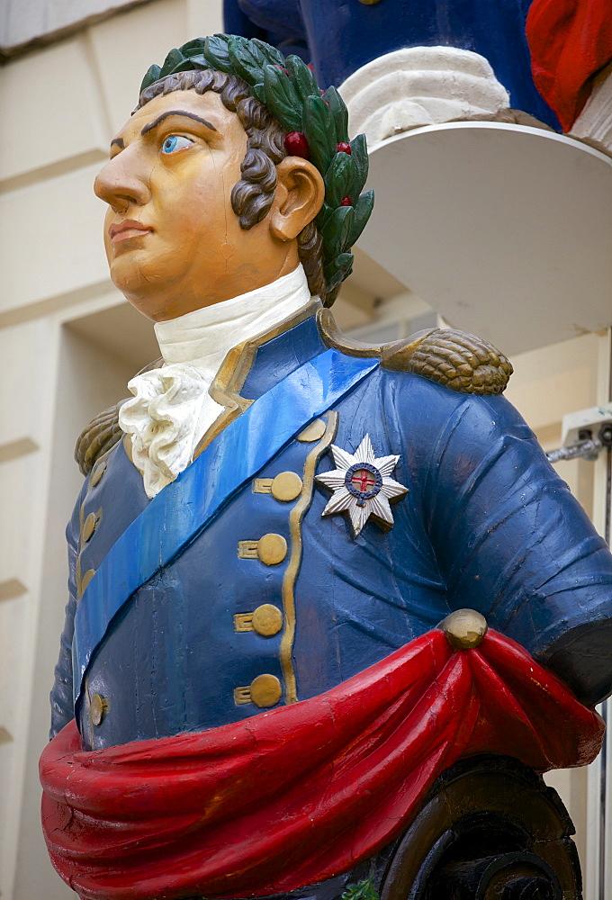 Ship figurehead at the National Maritime Museum, Greenwich, London, England, United Kingdom, Europe