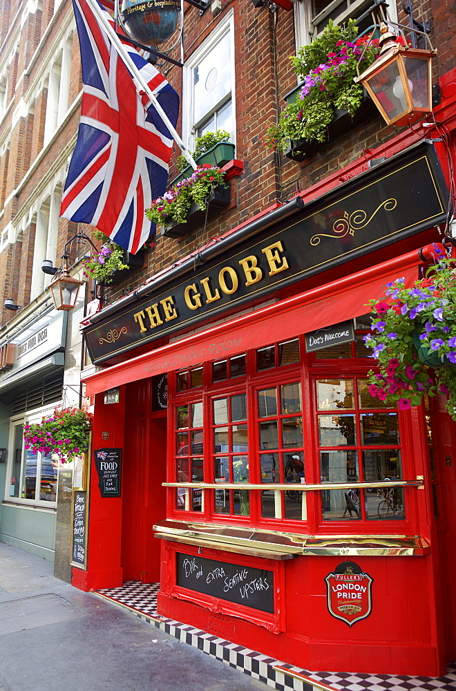 The Globe pub in Covent Garden, London, England, United Kingdom, Europe - 851-606