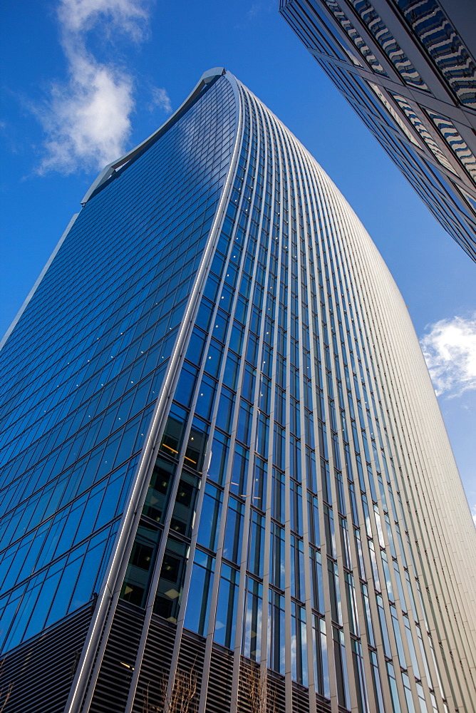 20 Fenchurch Street (Walkie Talkie building) in the City of London, London, England, United Kingdom, Europe - 851-624
