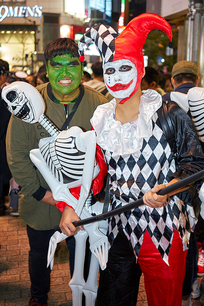 Halloween celebrations in Shibuya, Tokyo