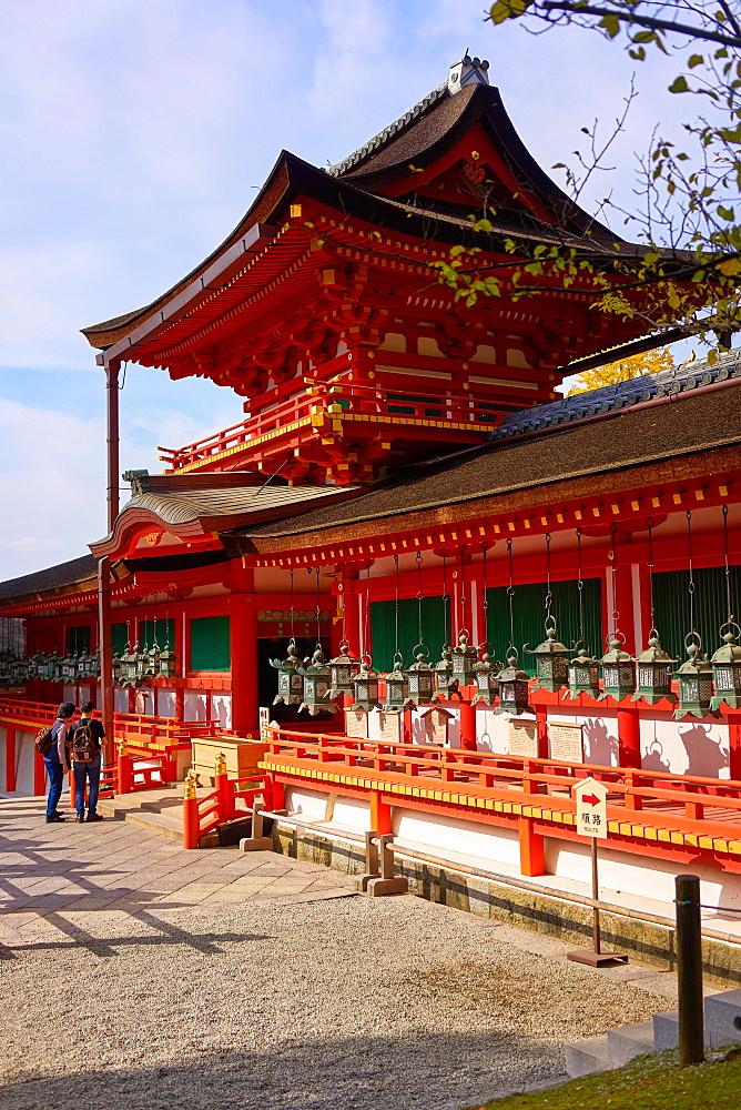 Kasuga Taisha shrine, UNESCO World Heritage Site, Nara, Honshu, Japan, Asia - 851-704