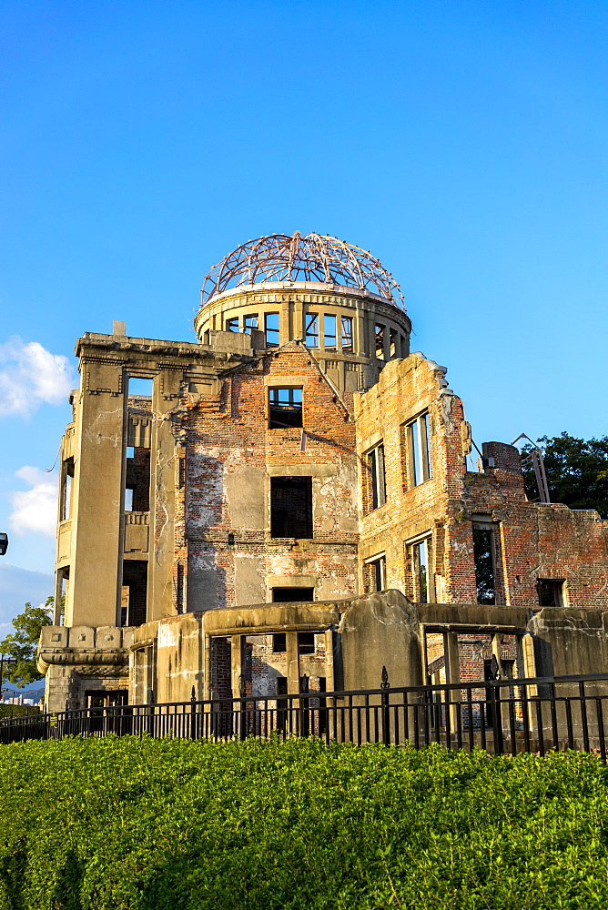 Atomic Bomb Dome (Genbaku Dome), UNESCO World Heritage Site, Hiroshima Peace Memorial Park, Hiroshima, Japan, Asia