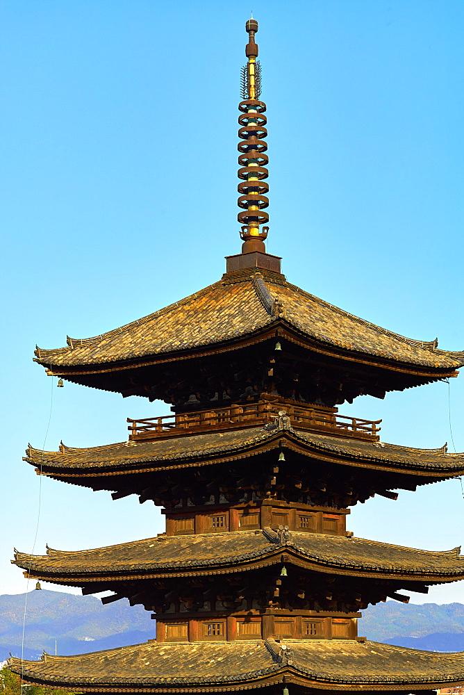 Yasaka Pagoda in Gion, Higashiyama, Kyoto.