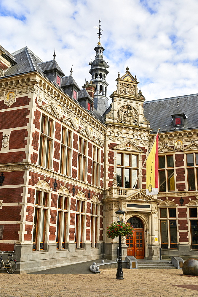 The University Hall of Utrecht University in Dom Square, Utrecht, North Holland, The Netherlands, Europe - 851-914