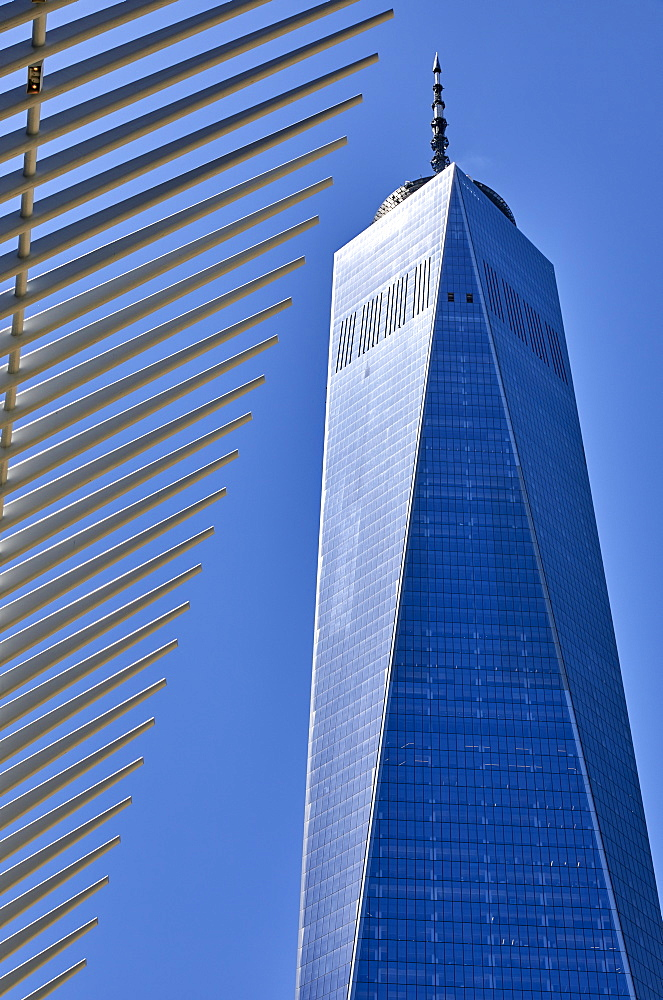 One World Trade Center in New York City, New York, United States of America, North America - 851-936