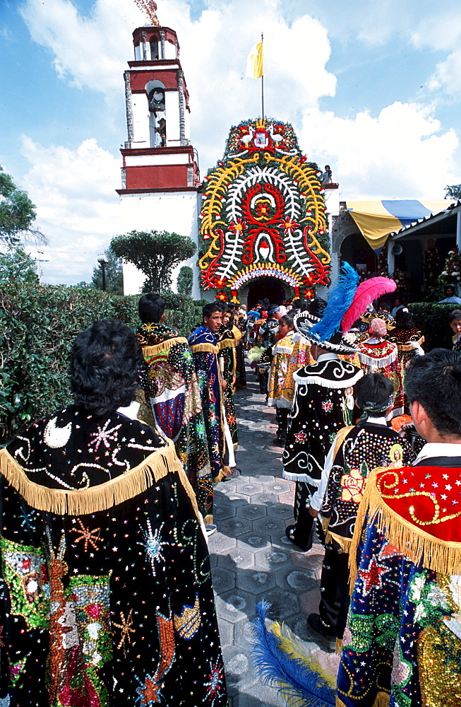 The Fiesta of San Francisco in San Juan Teotihuacan.
