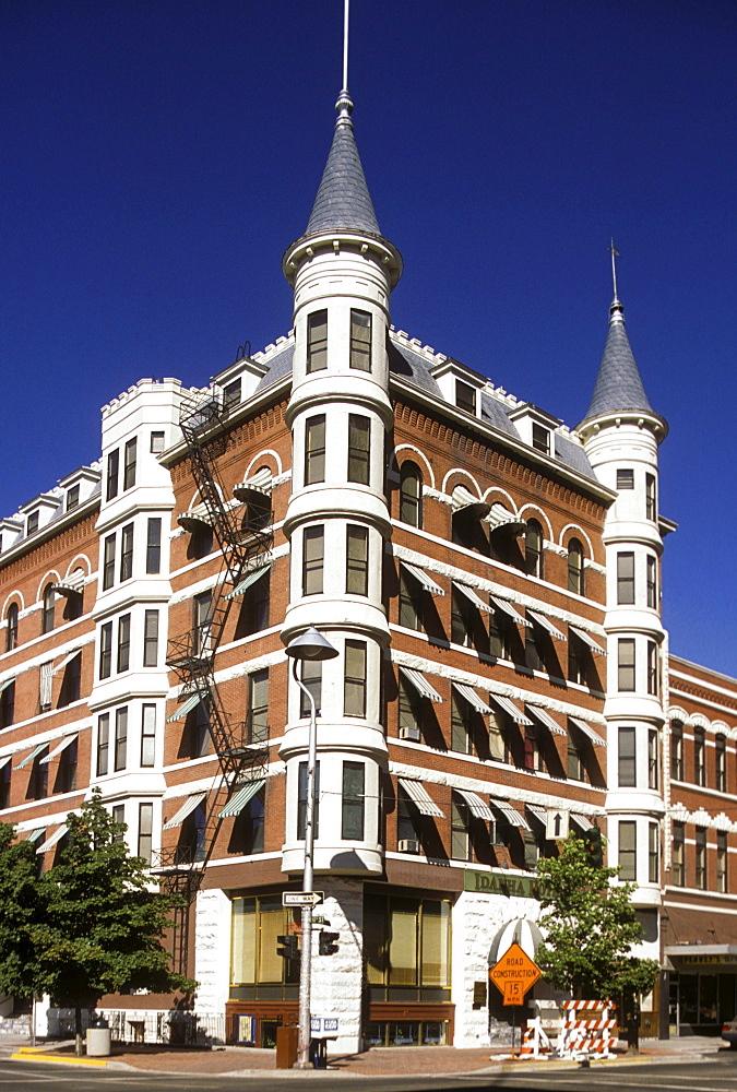 Victorian-era hotel in Boise, Idaho