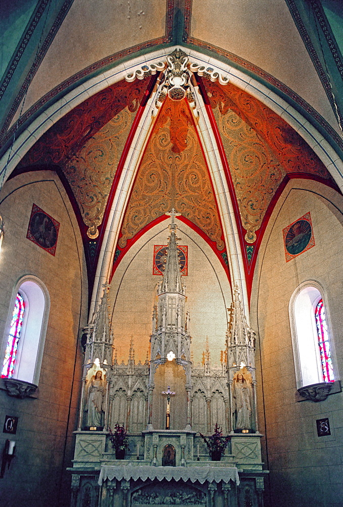 The Loretto Chapel at Santa Fe, New Mexico