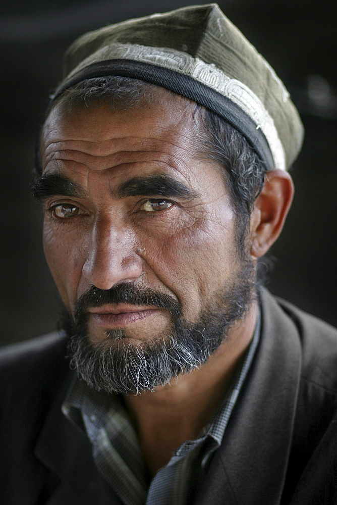 Portrait of a Tajik man