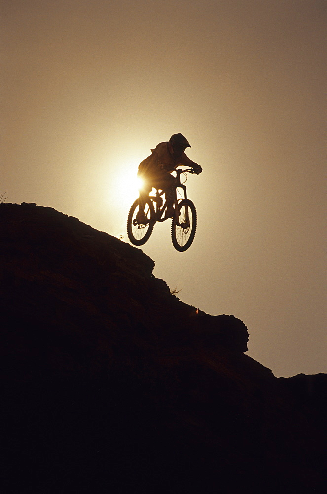 Robbie Bourdon, big air at the NWD 6 in Virgin, Utah, United States of America