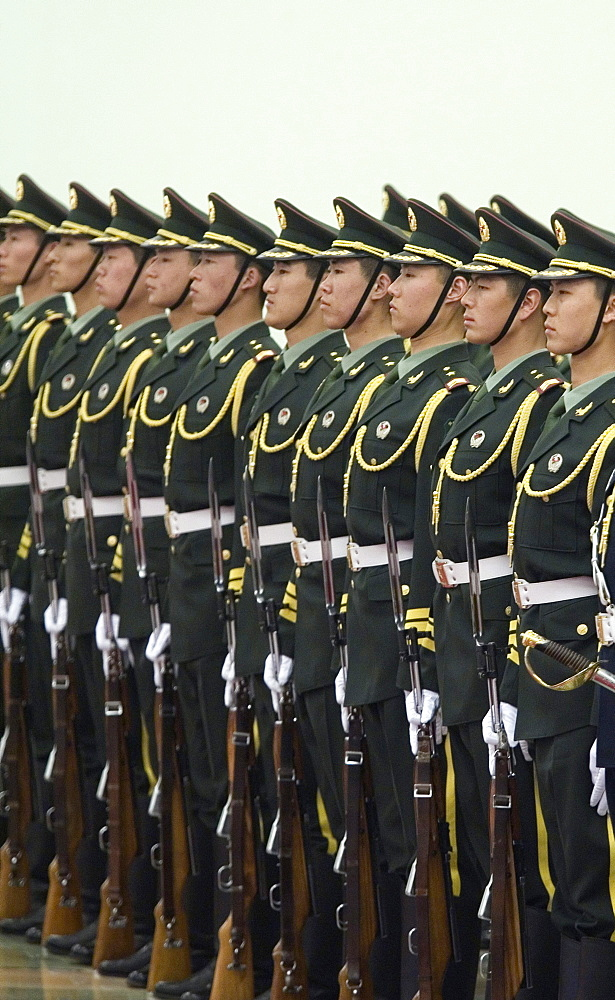 Chinese Honor Guard, Beijing, China.