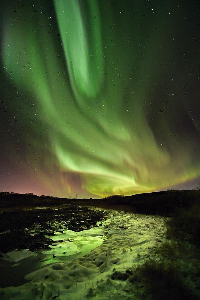 Aurora Borealis, Varanger Peninsula, Finnmark, Norway
