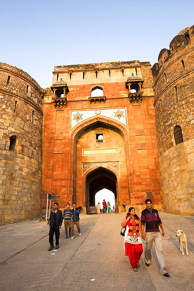 The Purana Qila fort in Delhi, India, the oldest building in delhi, dating back to the 16th Century