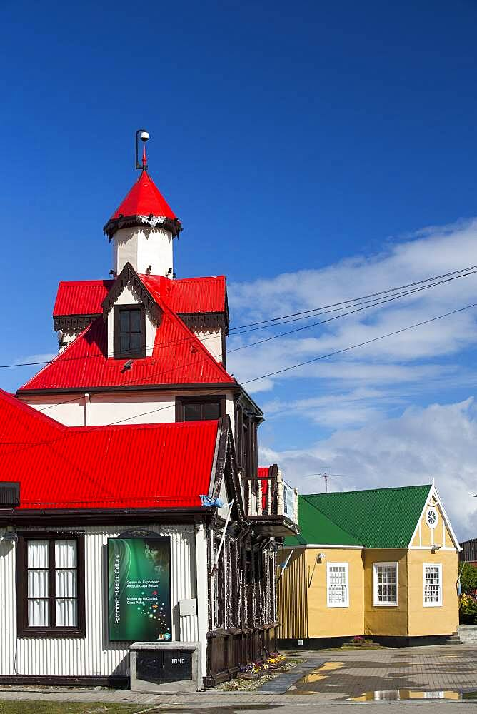 The town of Ushuaia is the capital of Tierra del Fuego, in Argentina, it is the most southerly town in the world