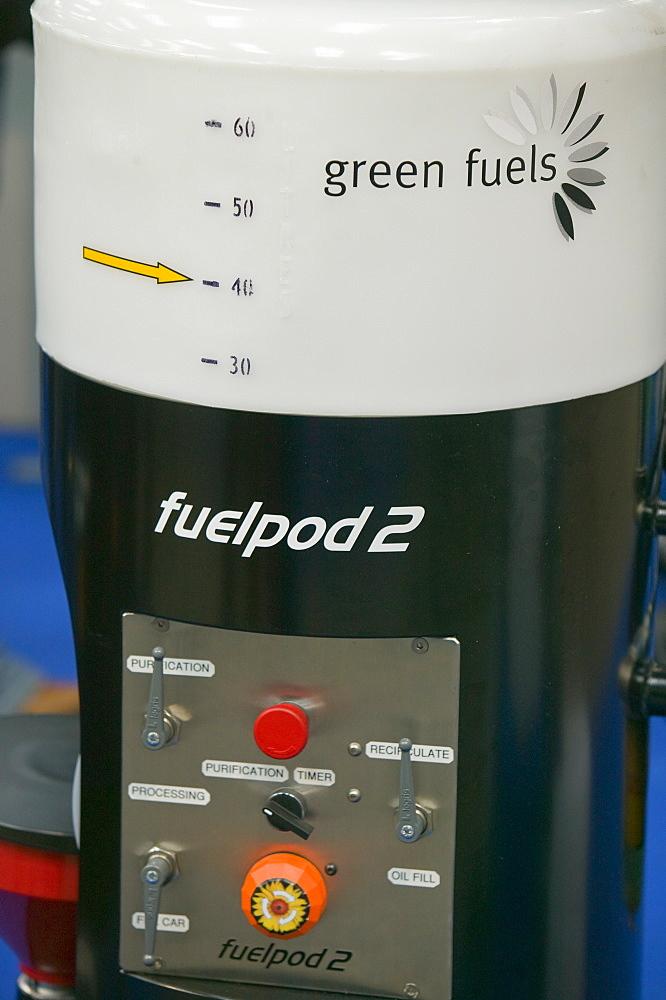 Machine for testing biodiesel