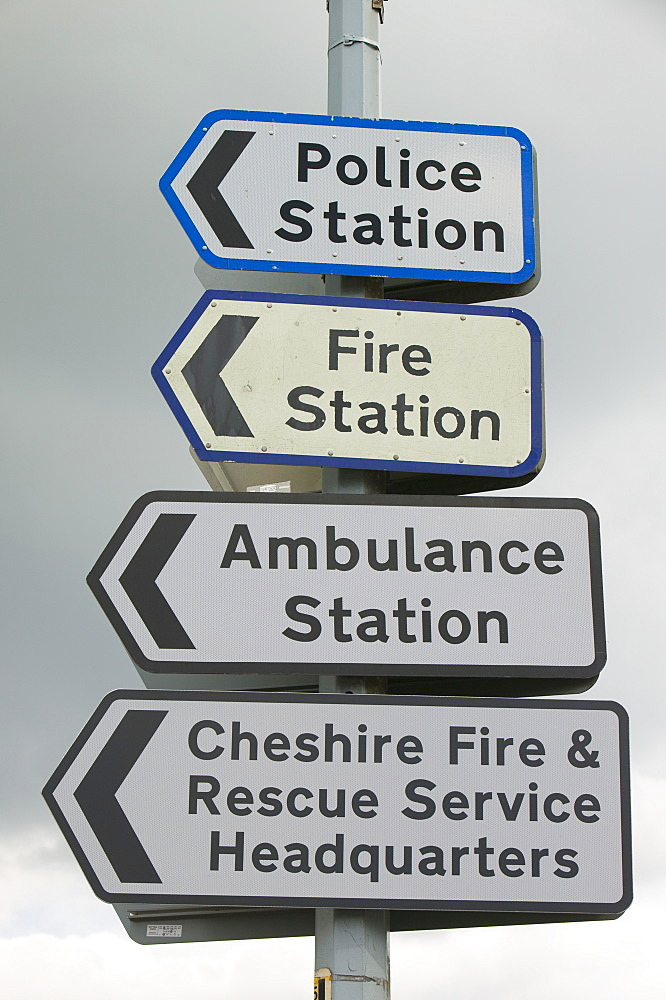 Signs in Cheshire, England, United Kingdom, Europe - 911-1828