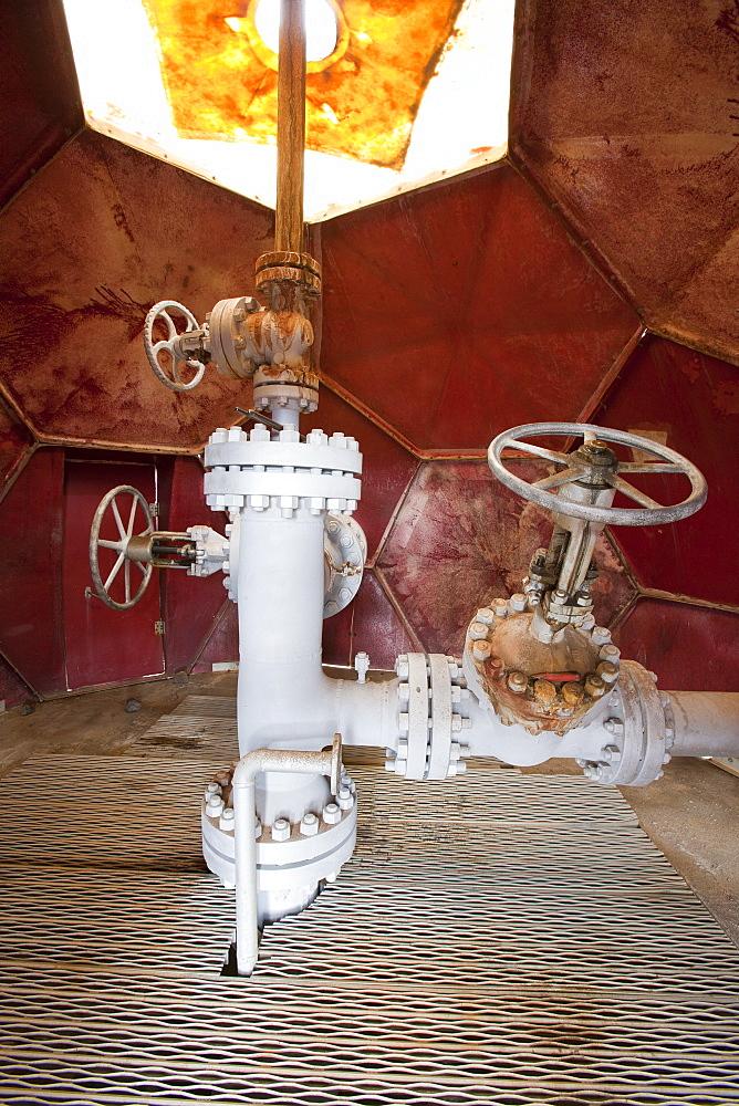 Krafla geothermal power station near Myvatn, Iceland, Polar Regions - 911-6867