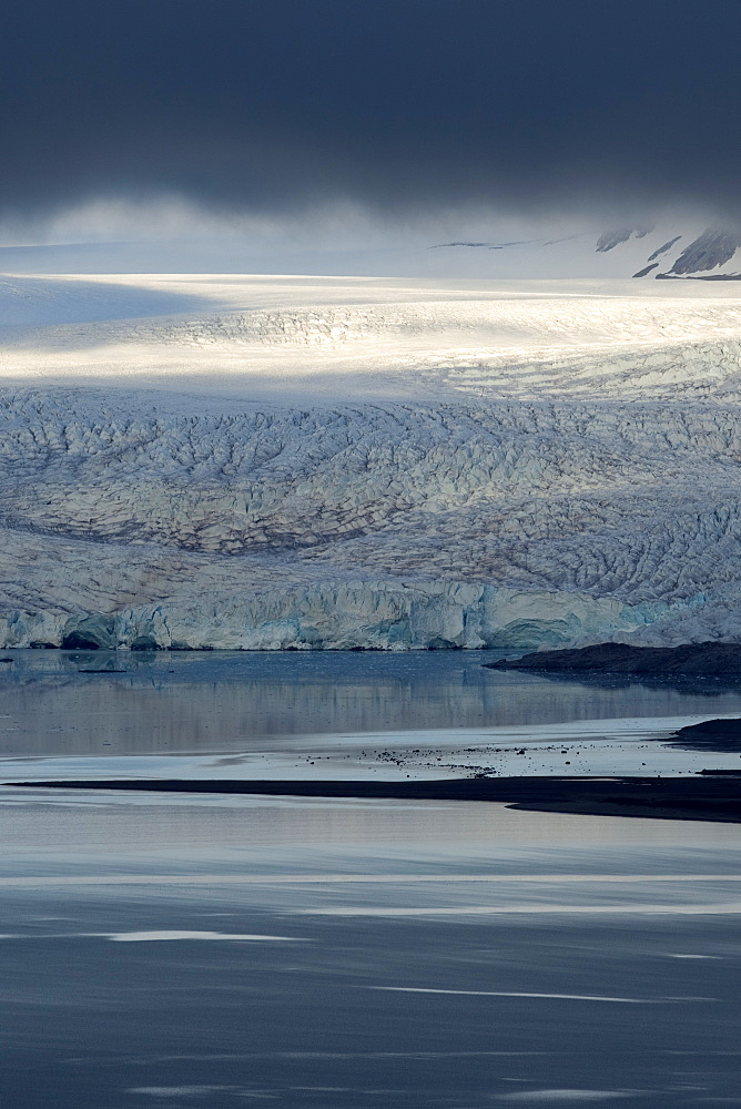 Nordenskioldbreen, Billefjorden, Spitsbergen, Svalbard, Norway, Scandinavia, Europe - 918-83