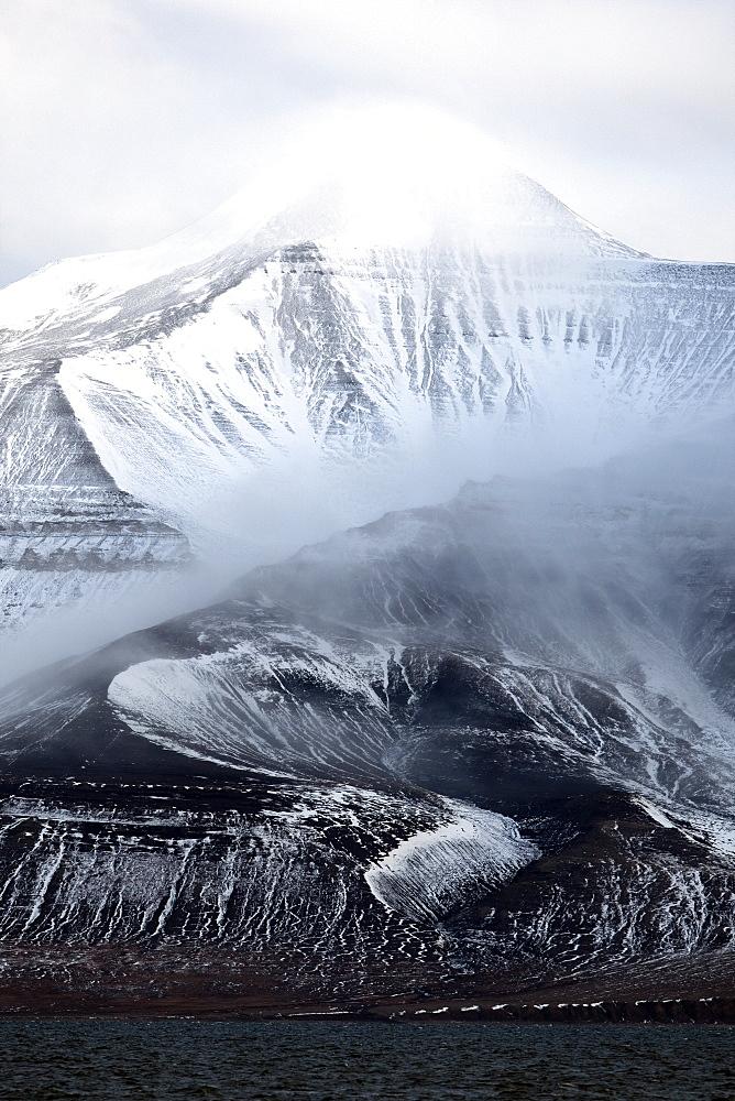 Billefjorden, Spitsbergen, Svalbard, Norway, Scandinavia, Europe - 918-85