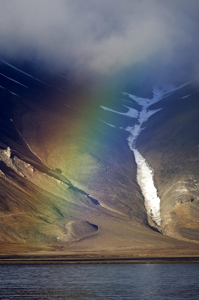 Billefjorden, Spitsbergen, Svalbard, Norway, Scandinavia, Europe - 918-97