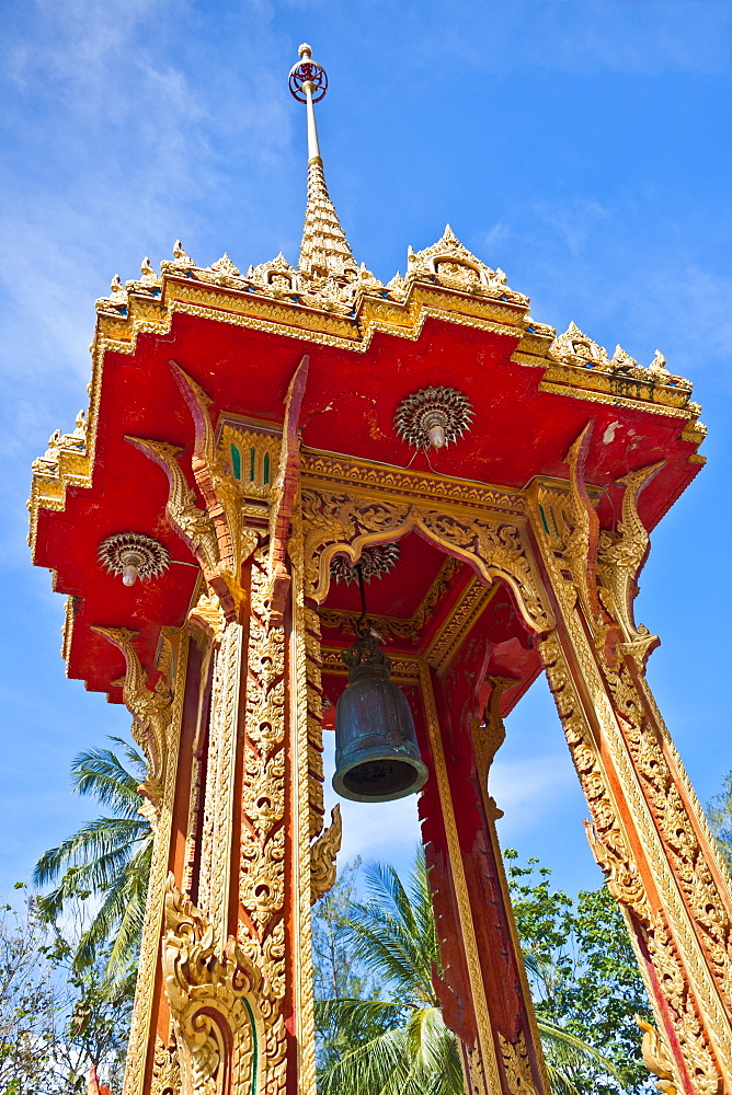 Karon Beach, Buddhist Temple, Phuket Island, Phuket, Thailand, Southeast Asia, Asia - 921-1367