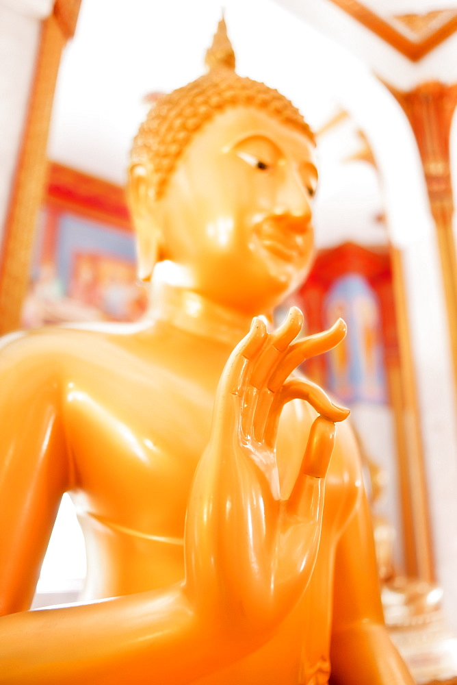 Statue, Karon Beach, Buddhist Temple, Phuket Island, Phuket, Thailand, Southeast Asia, Asia - 921-1369