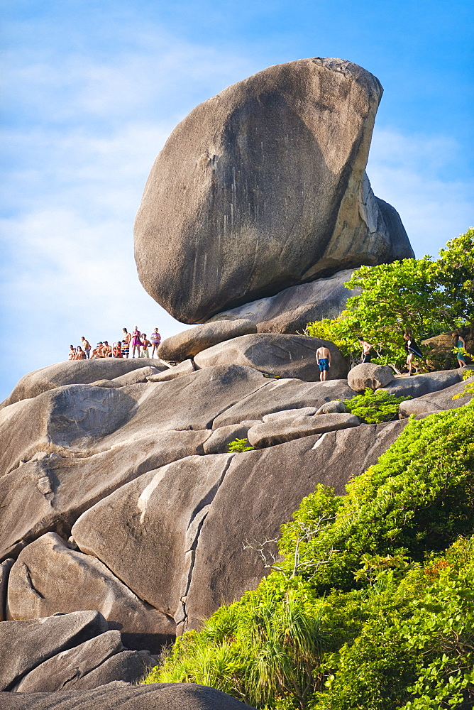 Rock formations of Ko Similan Beach, Phuket Island, Phuket, Thailand, Southeast Asia, Asia - 921-1378