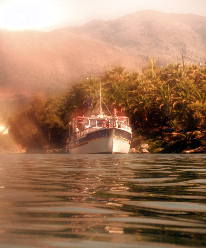 boat cruise, snorkeling, tourism. Sissi, Greece       (rr)