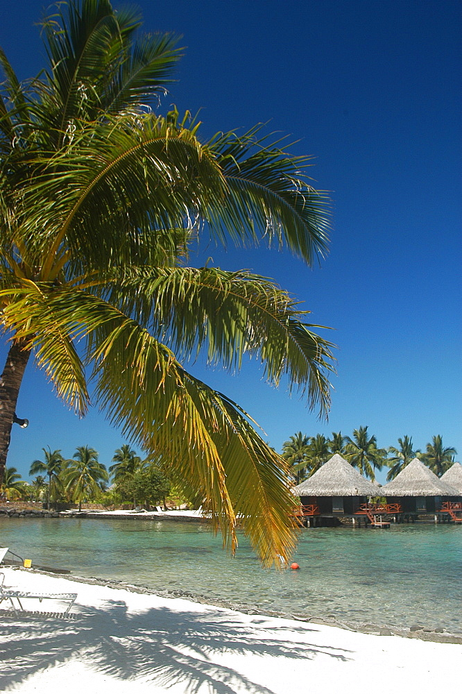 Intercontinental Tahiti Hotel beach apartments, Tahiti, French Polynesia. - 970-868