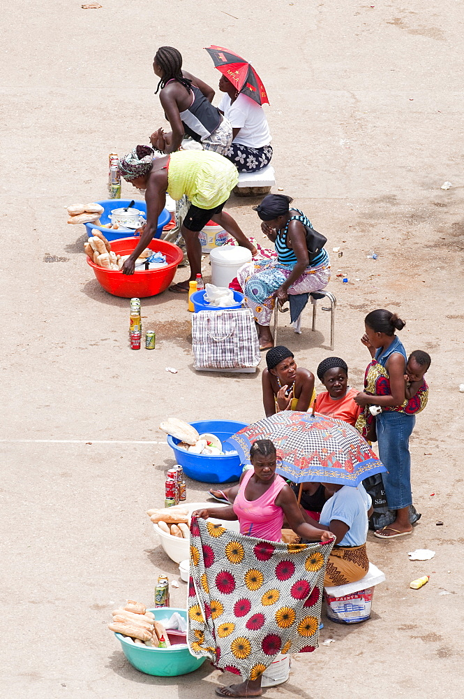 Street scenes in Luanda, Angola, Southern Africa, Africa