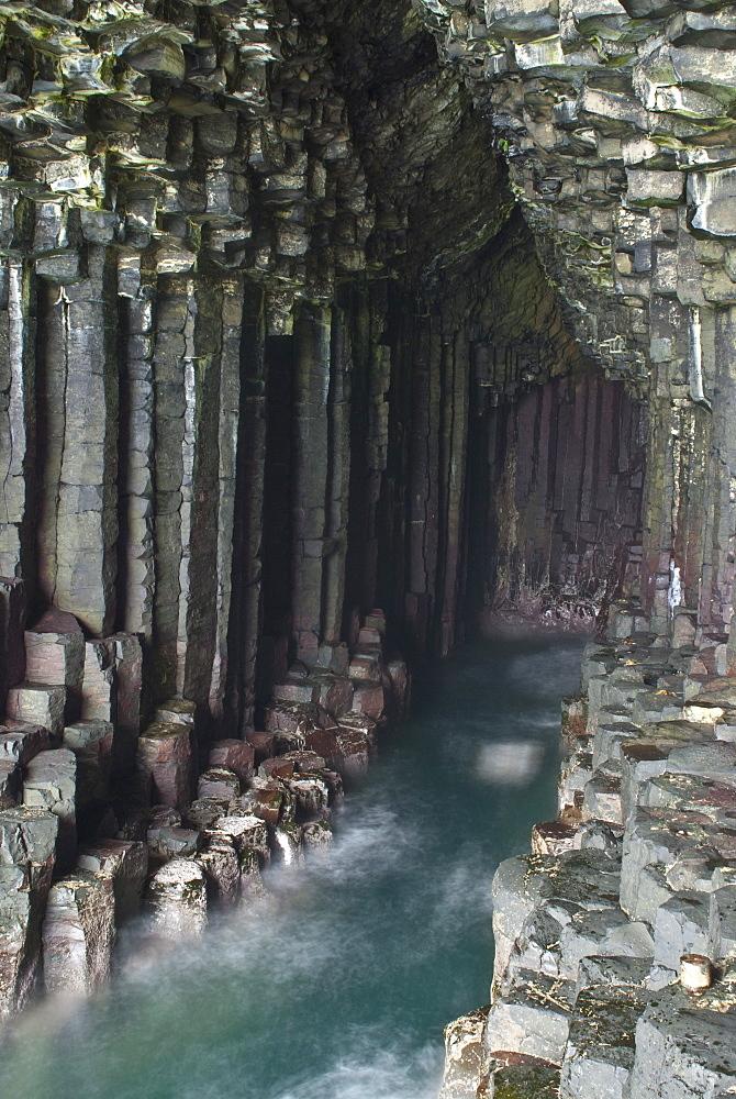 Fingal's Cave, Isle of Staffa, Inner Hebrides, Scotland, United Kingdom, Europe