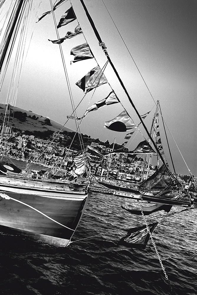 Yachts. Classic Boats, Sailing River Dart, Dartmouth, Devon. - 986-30