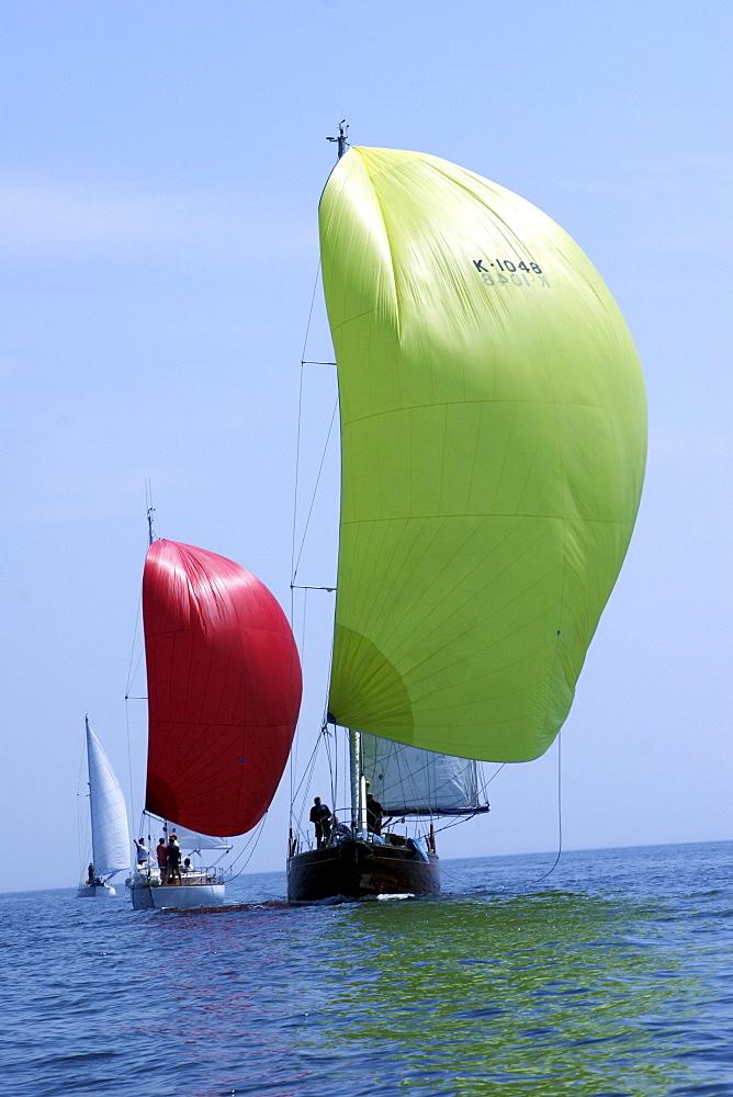 Yachts. Classic Boats, Sailing River Dart, Dartmouth, Devon. - 986-5