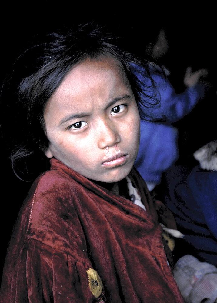 Nepal Girl. Portrait. Nepal - 986-51