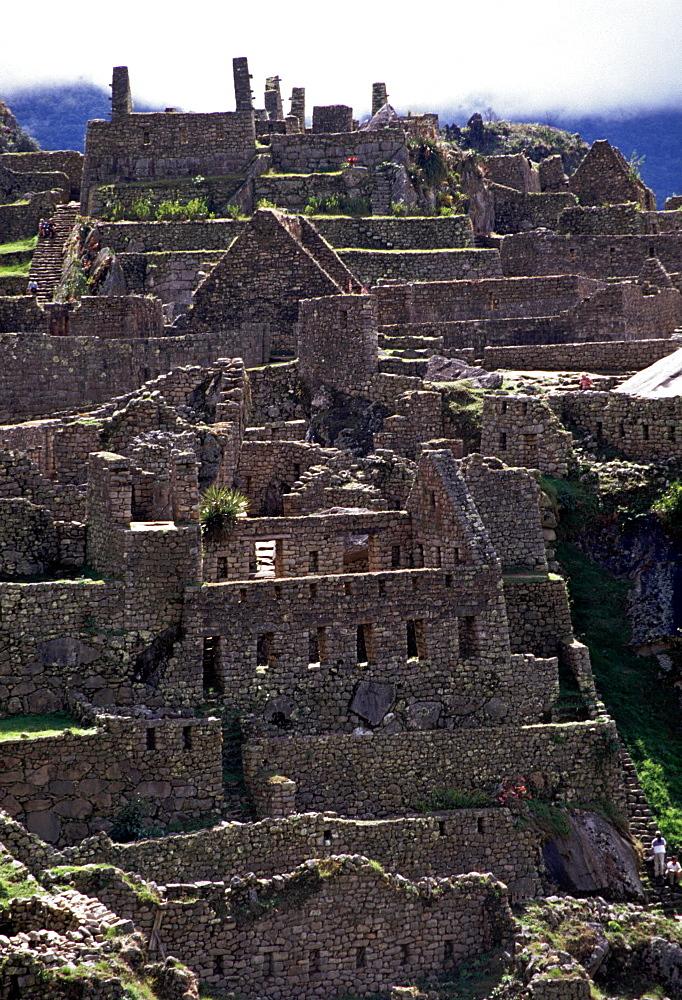 Machu Picchu. Ruins, Peru.  - 986-85