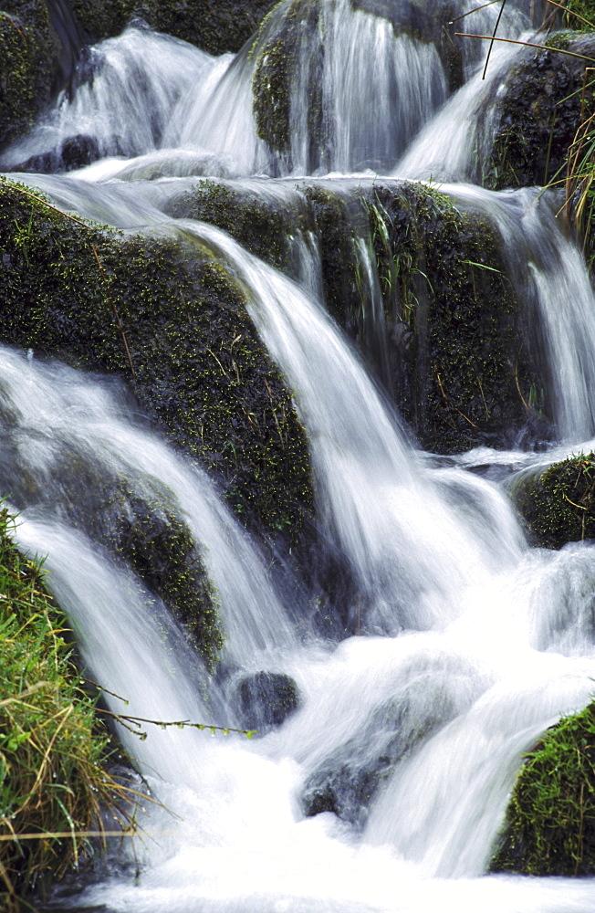 waterfall, mountain burn edzell, augus, scotland
