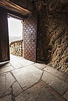 Open Door And Doorway Of Monastery Varlaam, Meteora, Greece
