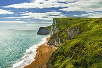The Jurassic coastline ll, England