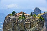 Monastery of the Holy Trinity, Meteora; Thessaly, Greece