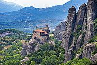 Holy Monastery of St. Nicholas Anapafsas, UNESCO World Heritage Site, Meteora Monasteries, Greece, Europe