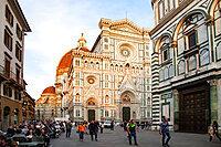 Cattedrale di Santa Maria del Fiore, UNESCO World Heritage Site, Florence, Tuscany, Italy, Europe