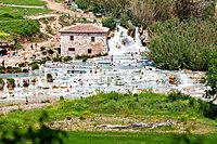 Saturnia thermal baths, Grosseto, Tuscany, Italy, Europe
