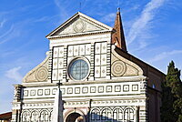 Church of Santa Maria Novella, UNESCO World Heritage Site, Florence, Tuscany, Italy, Europe