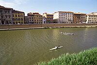 River Arno, Pisa, Tuscany, Italy, Europe