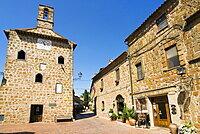 Sovana, Grosseto, Tuscany, Italy, Europe